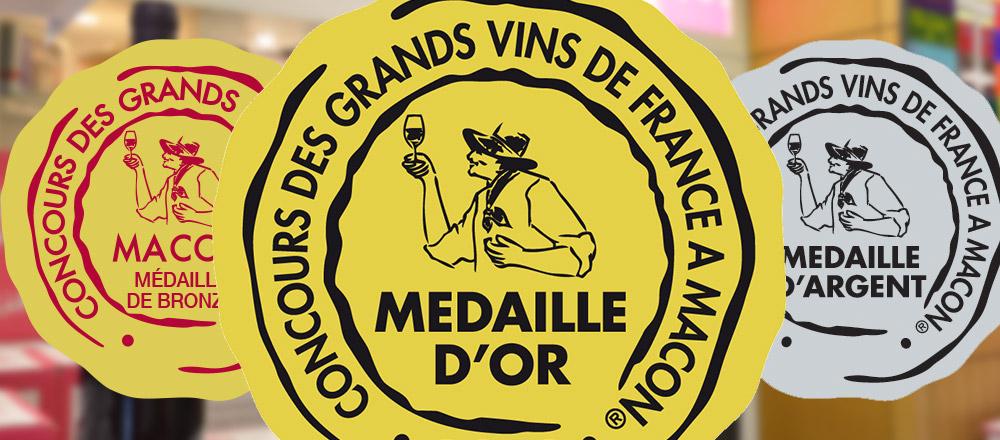 """Résultat de recherche d'images pour """"medaille concours des grands vin de macon"""""""